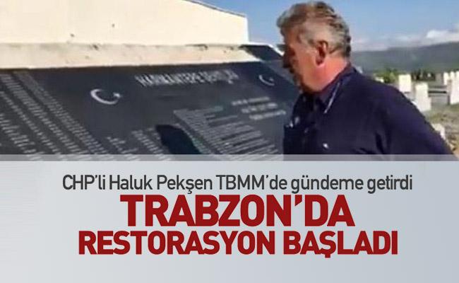 Trabzon'da Restorasyon Başladı